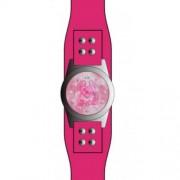 DDP - 4019201 - Montre Fille - Quartz Analogique - Bracelet en Cuir Rose