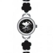 DDP - 4018401 - Montre Fille - Quartz Analogique - Bracelet en Métal Noir