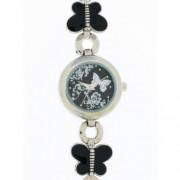 DDP - 4018302 - Montre Fille - Quartz Analogique - Bracelet en Métal Noir