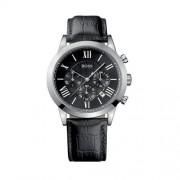 Hugo Boss - 1512574 - Montre Homme - Quartz Analogique - Bracelet cuir noir