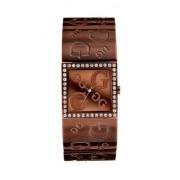 Guess? - G-Mix 12554L1 - Montre Femme - Quartz - Analogique - Bracelet Acier Inoxydable Marron enduit