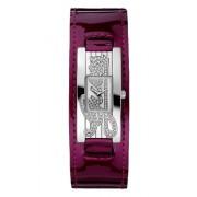 Guess - W80055L2 - Mini Autograph - Montre Femme - Quartz Analogique - Cadran Argent - Bracelet Cuir Violet