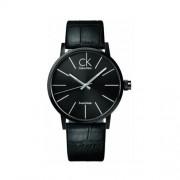 Calvin Klein - K7621401 - Montre Homme - Quartz - Analogique - Bracelet cuir Noir