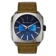 Ben Sherman - R782.03BS - Montre Homme - Quartz - Chronographe - Bracelet cuir Marron
