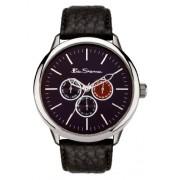 Ben Sherman - R726.03BS - Montre Homme - Quartz - Bracelet Cuir Noir