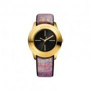 Mango QM761.31.01 Bracelet En Cuir - Montre Femme