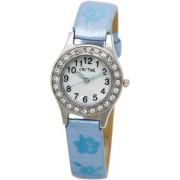 Cactus - CAC-34-L04 - Montre Fille - Quartz Analogique - Bracelet Bleu