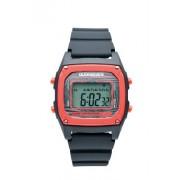 Quiksilver - M150DR-BKR - Montre Homme - Quartz Digital - Chronomètre - Rétro - éclairage d'Alarme - Calendrier - Bracelet