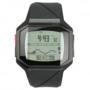 Quiksilver - M128TR-BLK - Montre Homme - Quartz Digital - Chronomètre - Rétro-éclairage - Alarme - Bracelet