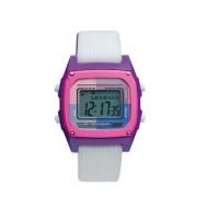 Roxy - W220DR-WHP - Montre Femme - Quartz Digital - Calendrier - Chronomètre - Alarme - Rétro-éclairage - Bracelet