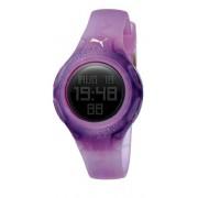 Puma Time - A.PU910452004 - Montre Femme - Quartz - Digitale - Chronographe - Alarme - Temps intermédiaires - Eclairage - Brac