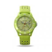 Montre Intimes Watch Homme Vert Pomme Cuir - IT-057L