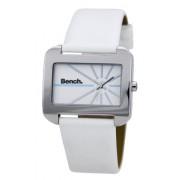 Bench - BC0235WHWH - Montre Femme - Quartz - Analogique - Bracelet Plastique Blanc