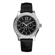 Guess - W12053L1 - Montre Femme - Montre Quartz Analogique - Collection Trend Muse - Bracelet en Cuir