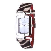 Accessorize - S1002 - Montre Femme - Quartz - Analogique - Bracelet Cuir Multicolore