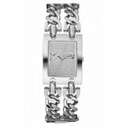 Guess - W80048L1 - Montre Femme - Quartz - Analogique - Bracelet Argent