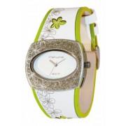 Kahuna - KLS-1009L - Montre Femme - Analogique - Bracelet Cuir Blanc